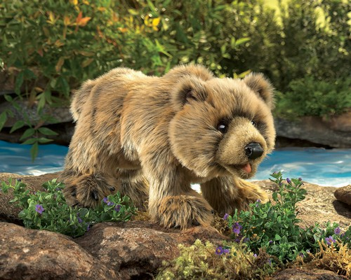 folkmanis Bear Grizzly puppet