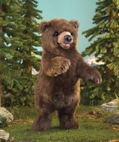 folkmanis Bear Standing puppet