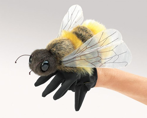 folkmanis Bee Honey puppet