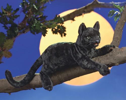 folkmanis Cat Black puppet