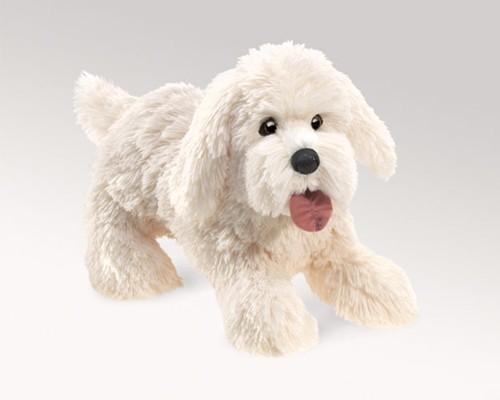 folkmanis Dog Panting puppet