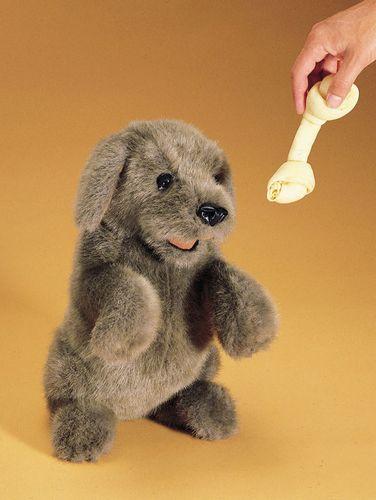 folkmanis Dog Sitting puppet