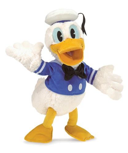 folkmanis Donald Duck puppet