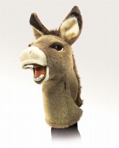 folkmanis Donkey Stage Puppet puppet