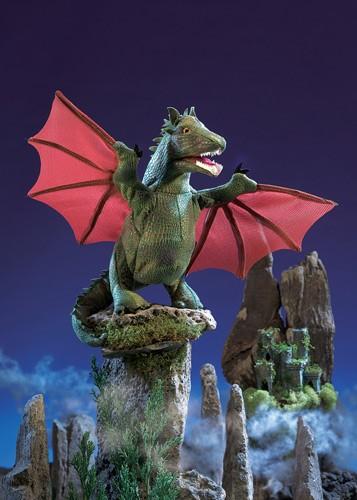 folkmanis Dragon Winged puppet