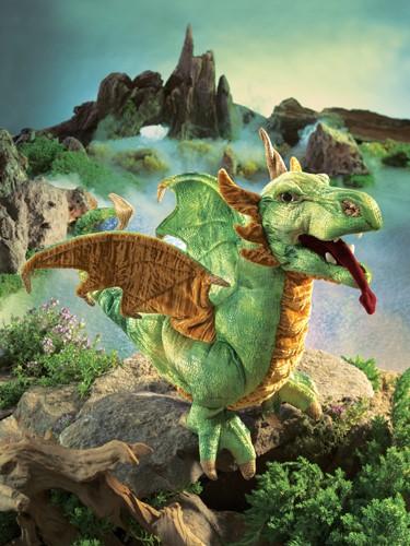 folkmanis Dragon Wyvern puppet
