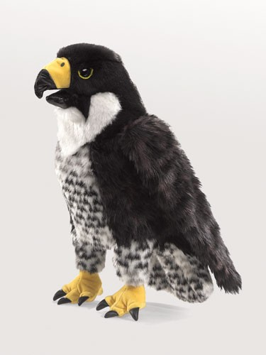 folkmanis Falcon Peregrine puppet