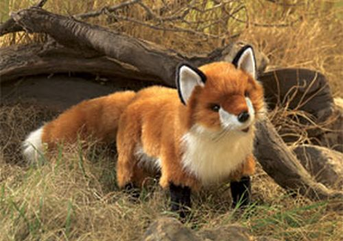folkmanis Fox Red puppet