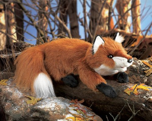 folkmanis Fox Small Red puppet