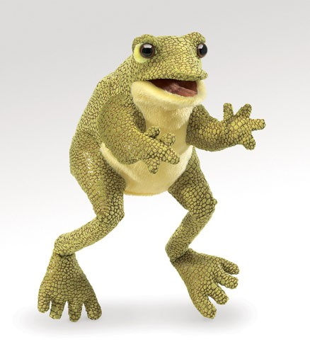 folkmanis Frog Funny puppet