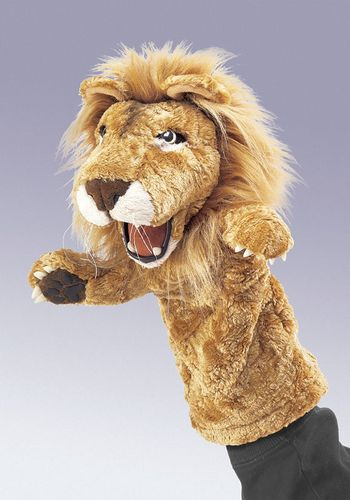 folkmanis Lion Stage Puppet puppet