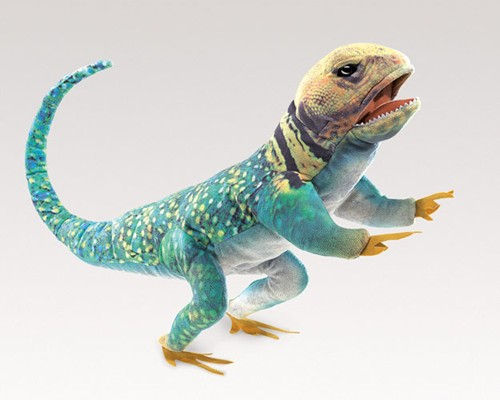 folkmanis Lizard Collared puppet