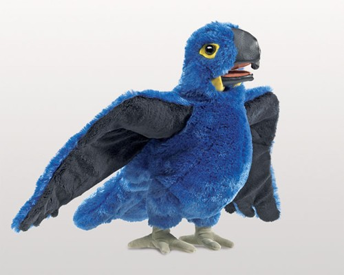 folkmanis Macaw Blue puppet