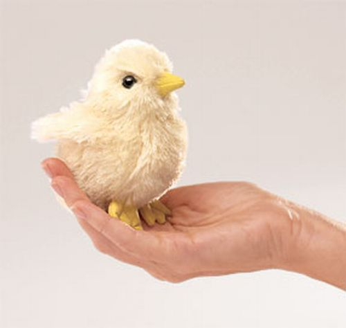 folkmanis Mini Chick puppet