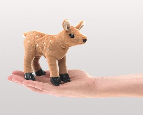 folkmanis Mini Fawn puppet