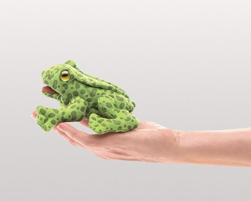 folkmanis Mini Frog puppet