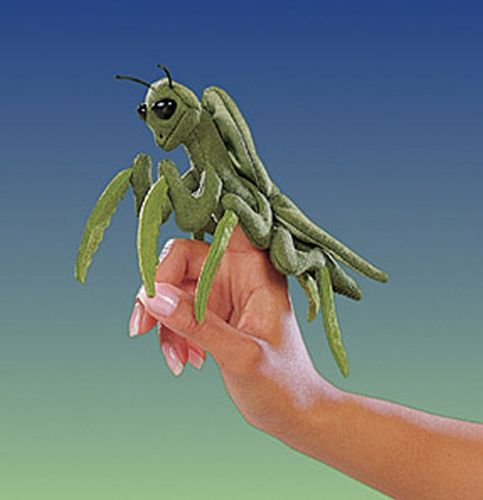 folkmanis Mini Praying Mantis puppet