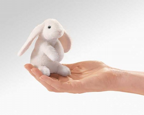 folkmanis Mini Rabbit Lop Eared puppet