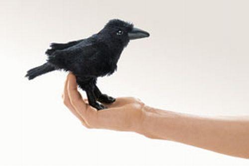 folkmanis Mini Raven puppet