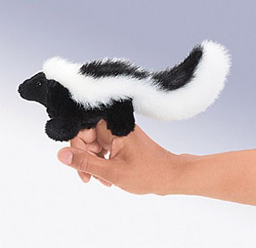 folkmanis Mini Skunk puppet