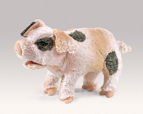 folkmanis Pig Grunting puppet