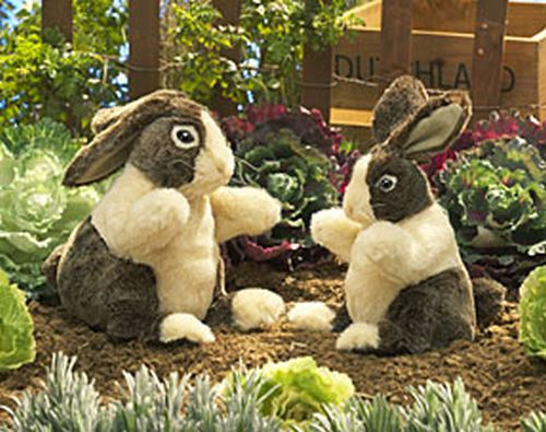 folkmanis Rabbit Dutch puppet