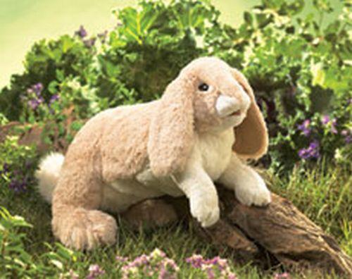 folkmanis Rabbit Floppy Bunny puppet