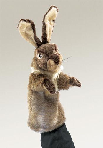 folkmanis Rabbit Stage Puppet puppet