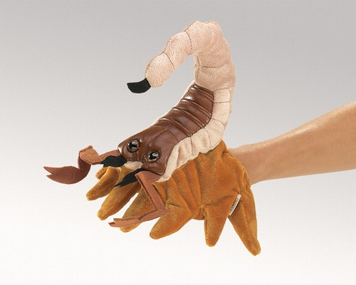 folkmanis Scorpion puppet