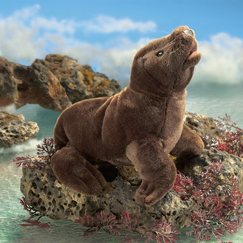 folkmanis Sea Lion Pup puppet