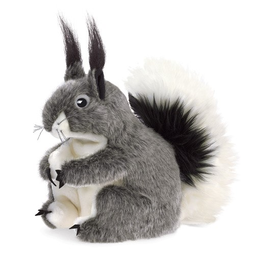folkmanis Squirrel Aberts puppet