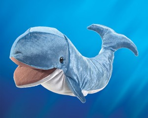 folkmanis Whale puppet