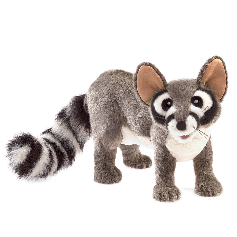 folkmanis ringtail cat puppet